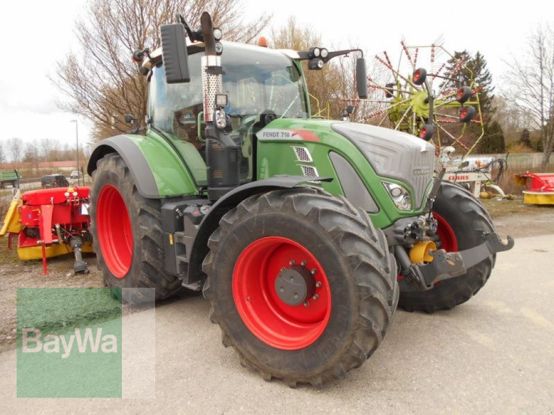 Traktor του τύπου Fendt 718 VARIO S4 PROFI PLUS, Gebrauchtmaschine σε Mindelheim (Φωτογραφία 5)