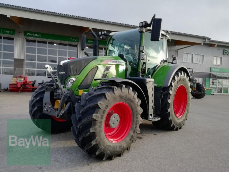 Traktor des Typs Fendt 718 VARIO S4 PROFI PLUS, Gebrauchtmaschine in Eggenfelden (Bild 1)