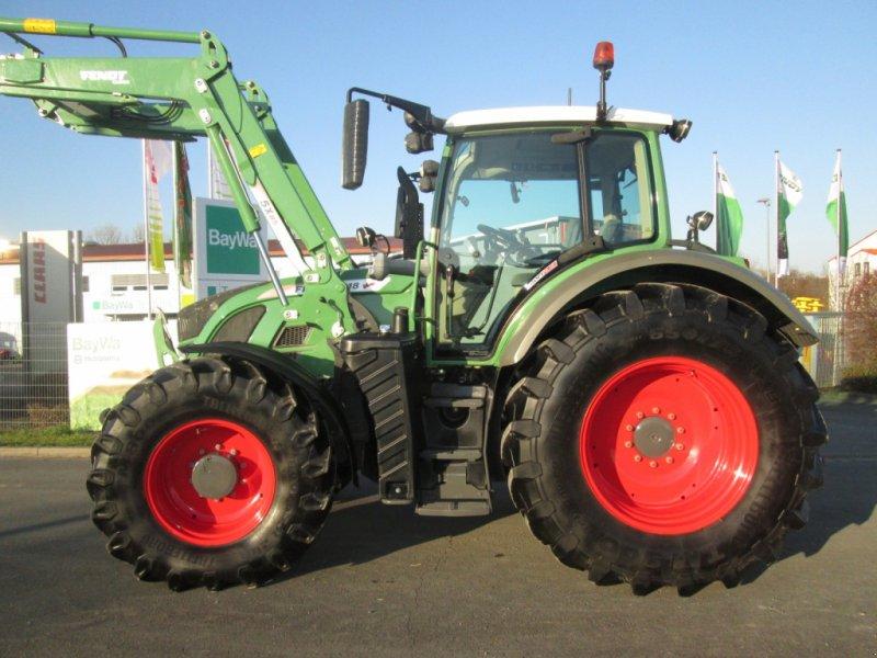 Traktor des Typs Fendt 718 Vario SCR Profi Plus RTK, Gebrauchtmaschine in Wülfershausen an der Saale (Bild 1)