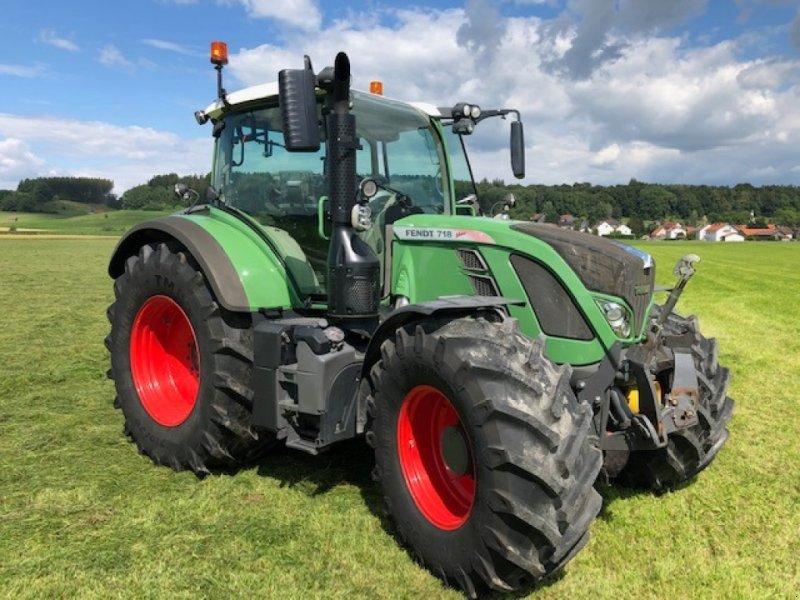 Traktor des Typs Fendt 718 Vario SCR, Gebrauchtmaschine in Dirlewang (Bild 5)