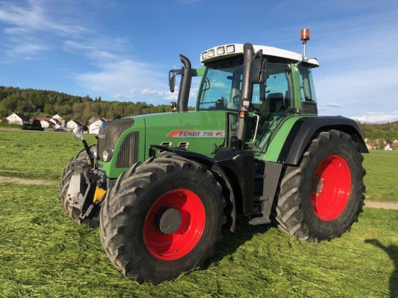 Traktor des Typs Fendt 718 Vario TMS, Gebrauchtmaschine in Dirlewang (Bild 1)