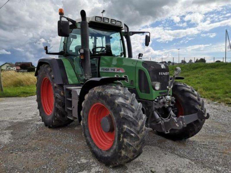 Traktor des Typs Fendt 718 VARIO TMS, Gebrauchtmaschine in Muespach (Bild 1)