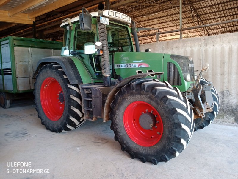 Traktor des Typs Fendt 718 Vario TMS, Gebrauchtmaschine in Möttingen (Bild 2)