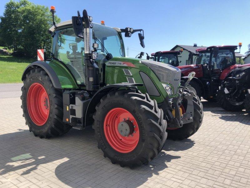 Traktor des Typs Fendt 718 Vario, Vorführmaschine in Traberg (Bild 1)