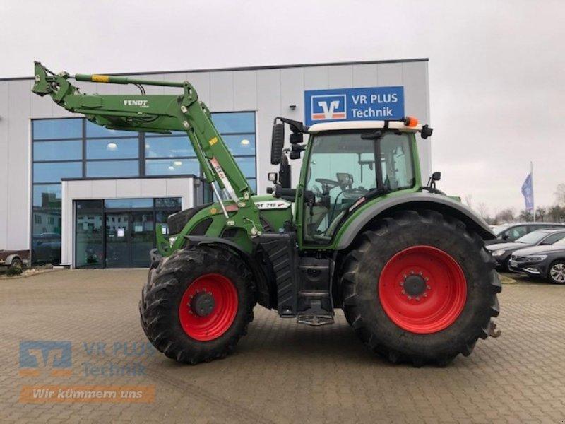 Traktor des Typs Fendt 718, Gebrauchtmaschine in LÜCHOW (Bild 1)
