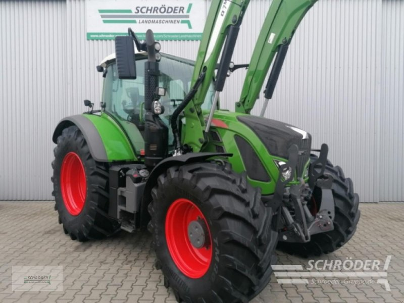 Traktor des Typs Fendt 720 VARIO S4 PROFI, Gebrauchtmaschine in Holdorf (Bild 1)