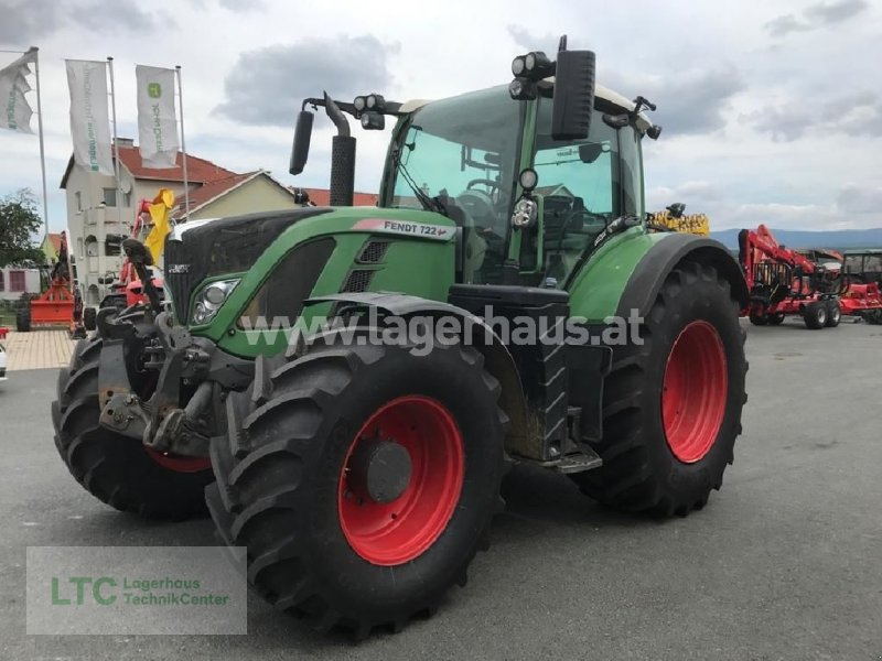 Traktor a típus Fendt 722 PROFI, Gebrauchtmaschine ekkor: Großpetersdorf (Kép 1)