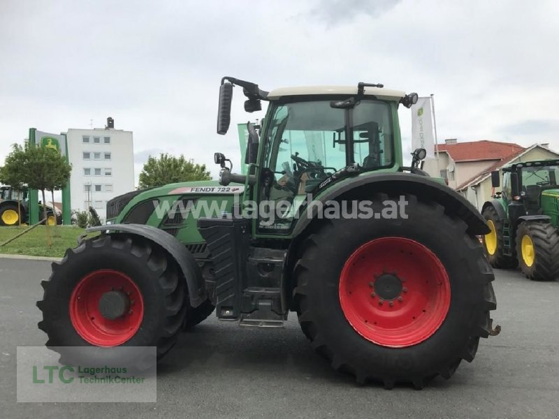 Traktor a típus Fendt 722 PROFI, Gebrauchtmaschine ekkor: Großpetersdorf (Kép 10)