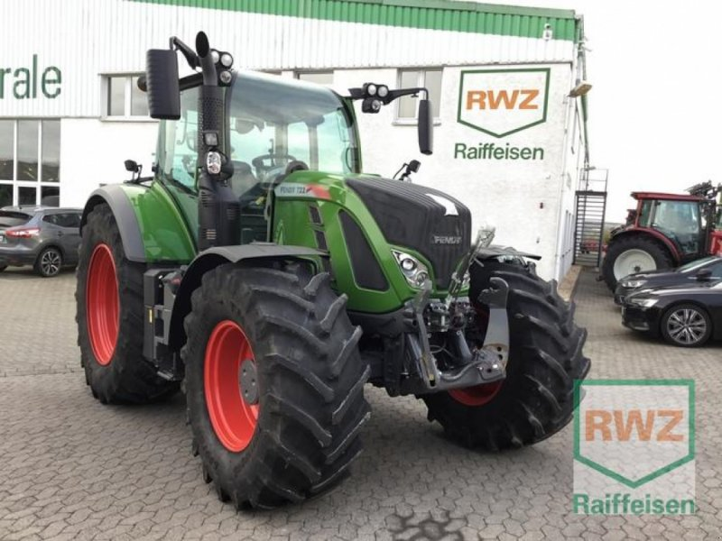 Traktor des Typs Fendt 722 S4 Profi Plus Schlep, Gebrauchtmaschine in Kruft (Bild 1)