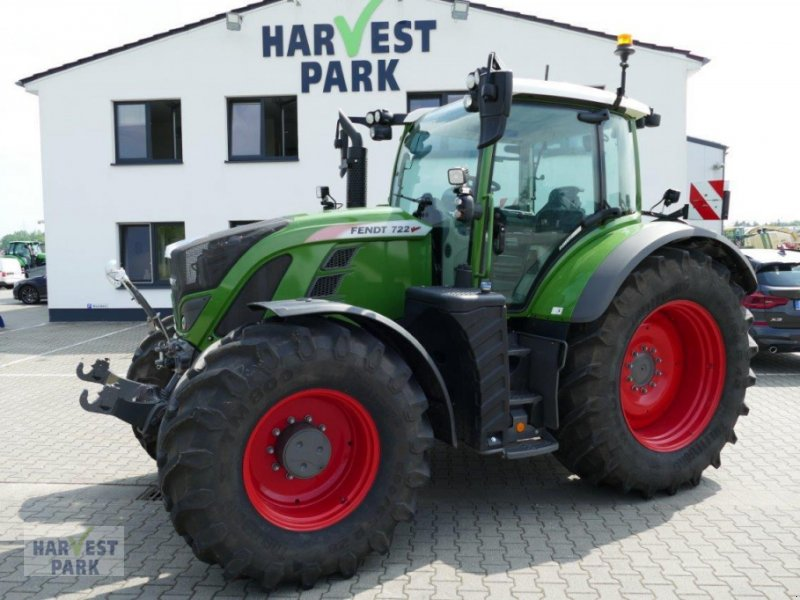 Traktor des Typs Fendt 722 S4, Gebrauchtmaschine in Emsbüren (Bild 1)