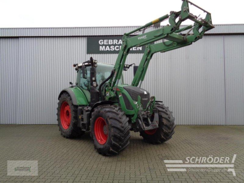 Traktor des Typs Fendt 722 Vario S4 Profi, Gebrauchtmaschine in Ahlerstedt (Bild 1)