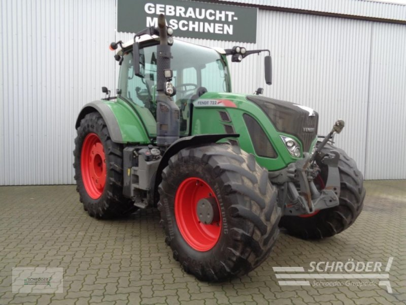 Traktor des Typs Fendt 722 Vario S4 Profi, Gebrauchtmaschine in Westerstede (Bild 1)
