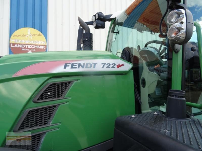 Traktor des Typs Fendt 722 Vario S4 ProfiPlus, Gebrauchtmaschine in Böklund (Bild 5)