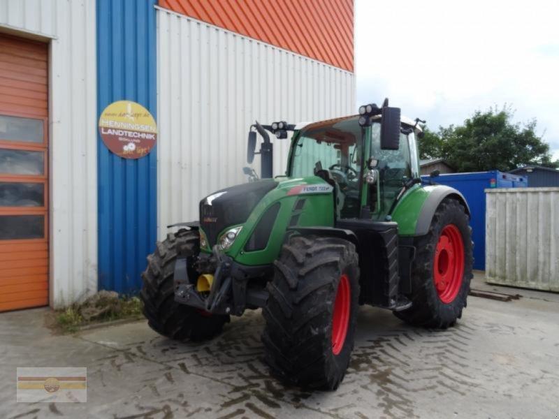 Traktor des Typs Fendt 722 Vario S4 ProfiPlus, Gebrauchtmaschine in Böklund (Bild 2)