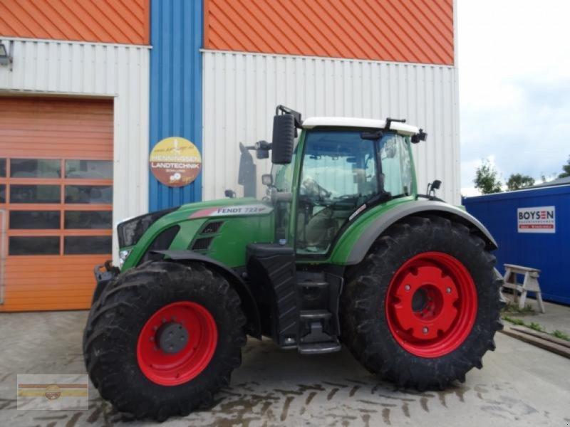 Traktor des Typs Fendt 722 Vario S4 ProfiPlus, Gebrauchtmaschine in Böklund (Bild 1)