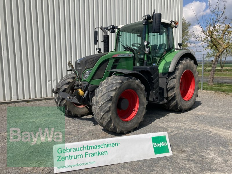 Traktor du type Fendt 722 Vario SCR Profi Plus, Gebrauchtmaschine en Giebelstadt (Photo 1)