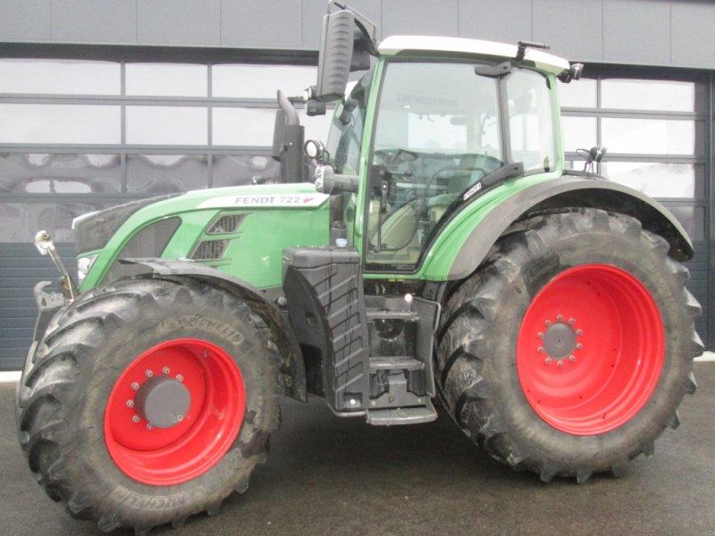 Traktor du type Fendt 722 Vario SCR Profi, Gebrauchtmaschine en Wülfershausen an der Saale (Photo 1)