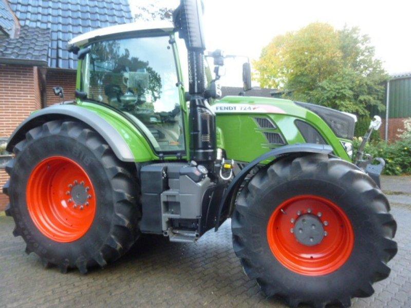 Traktor des Typs Fendt 724 Profi Plus RTK, Gebrauchtmaschine in Bremervörde (Bild 1)