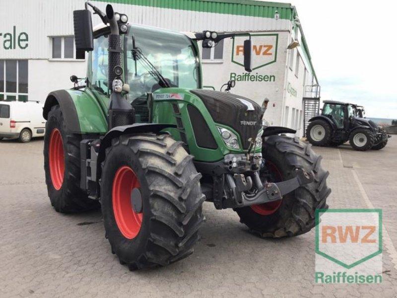 Traktor des Typs Fendt 724 Profi Plus Schlepper, Gebrauchtmaschine in Kruft (Bild 1)