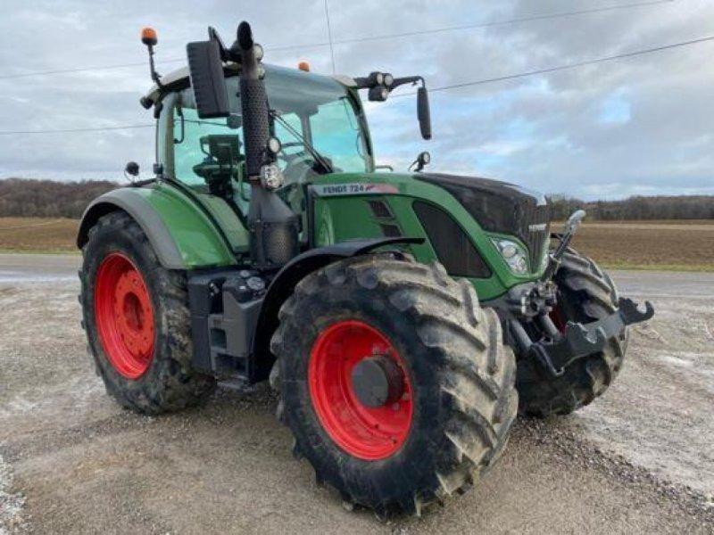 Traktor des Typs Fendt 724 PROFI PLUS, Gebrauchtmaschine in Muespach (Bild 1)