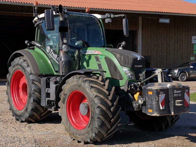 Traktor des Typs Fendt 724 Profi Plus, Gebrauchtmaschine in Tiefbrunn (Bild 1)