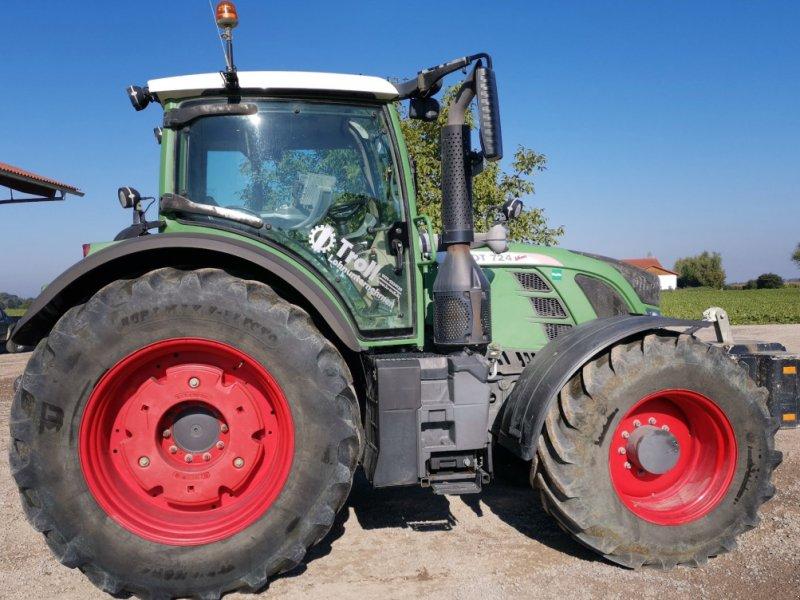 Traktor des Typs Fendt 724 Profi Plus, Gebrauchtmaschine in Tiefbrunn (Bild 3)