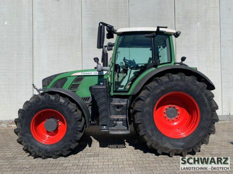 Traktor a típus Fendt 724 Vario 50km/h TMS, Gebrauchtmaschine ekkor: Aspach (Kép 1)