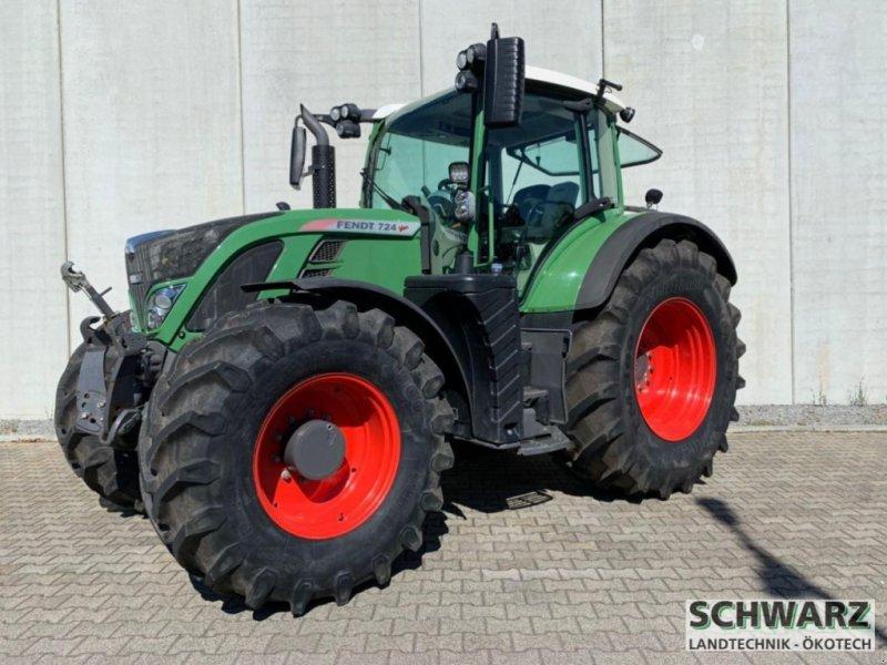 Traktor типа Fendt 724 Vario 50km/h TMS, Gebrauchtmaschine в Aspach (Фотография 2)