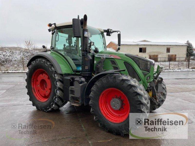 Traktor des Typs Fendt 724 Vario Power, Gebrauchtmaschine in Ebeleben (Bild 6)