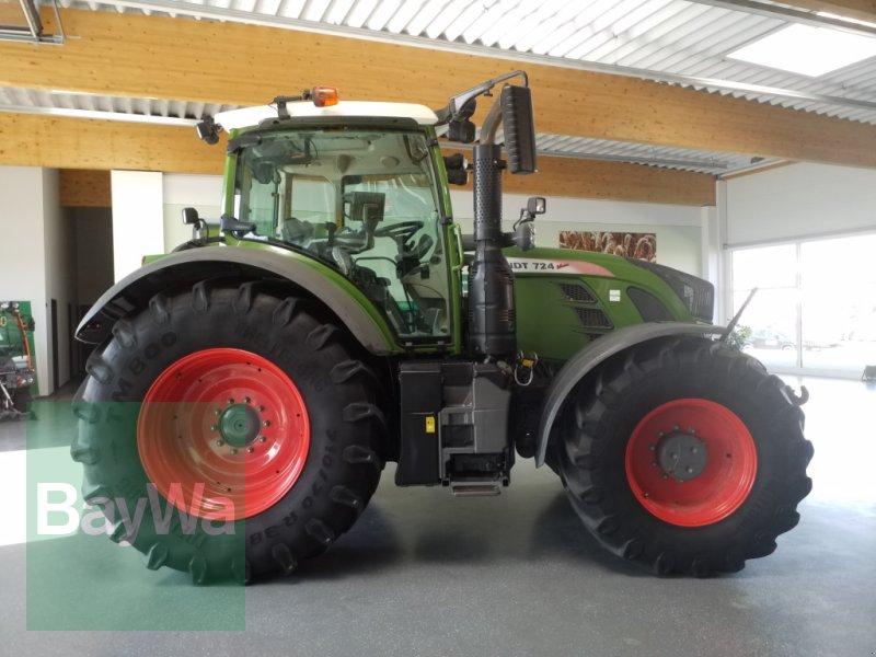 Traktor des Typs Fendt 724 Vario Profi Plus + Garantie + RTK Spurführung, Gebrauchtmaschine in Bamberg (Bild 4)