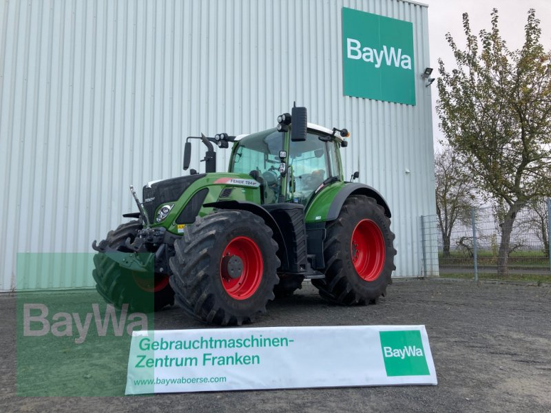 Traktor des Typs Fendt 724 Vario Profi Plus S4, Gebrauchtmaschine in Giebelstadt (Bild 1)