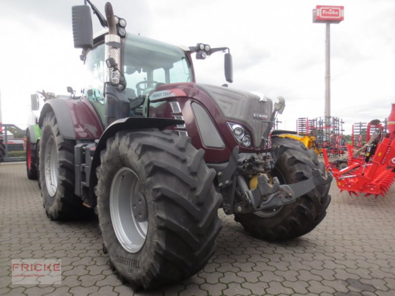 Traktor des Typs Fendt 724 Vario Profi Plus S4, Gebrauchtmaschine in Bockel - Gyhum (Bild 1)