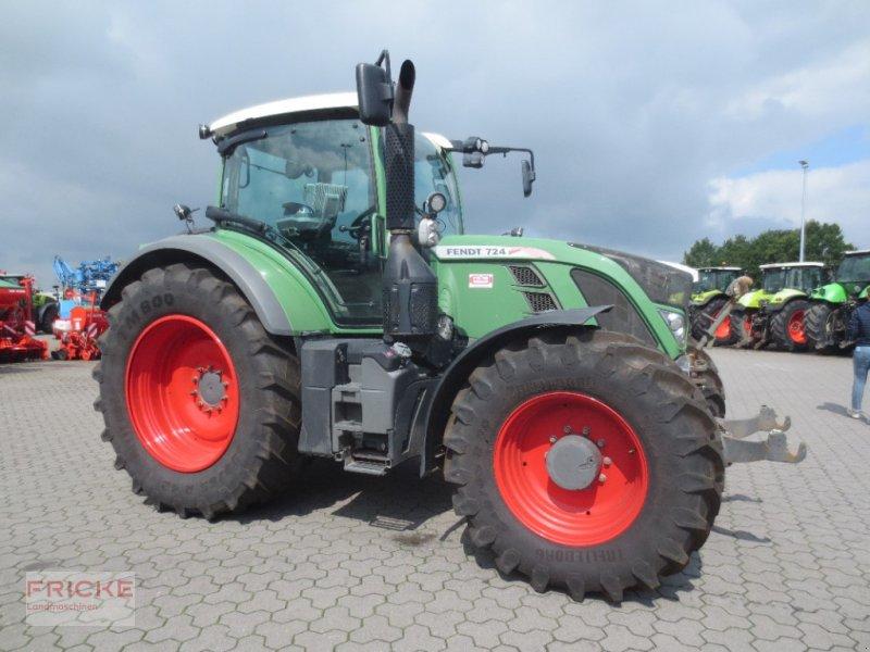 Traktor типа Fendt 724 Vario Profi Plus, Gebrauchtmaschine в Bockel - Gyhum (Фотография 1)