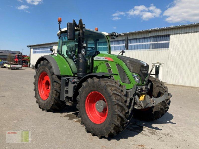 Traktor des Typs Fendt 724 Vario Profi Plus, Gebrauchtmaschine in Risum-Lindholm (Bild 1)