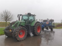 Fendt 724 Vario Profi SCR inkl. RTK Spuhrführung Traktor