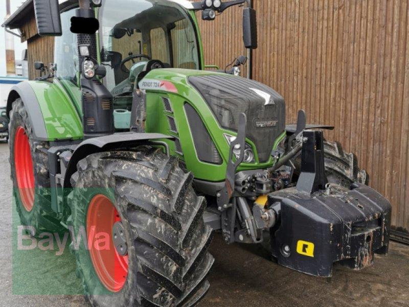 Traktor des Typs Fendt 724 Vario Profi, Gebrauchtmaschine in Langenau (Bild 1)
