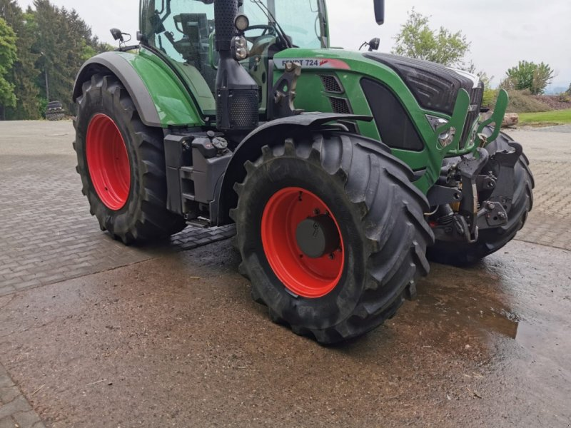 Traktor des Typs Fendt 724 Vario Profi, Gebrauchtmaschine in Donaueschingen (Bild 3)