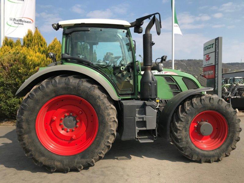 Traktor des Typs Fendt 724 Vario Profi, Gebrauchtmaschine in Linsengericht-Altenh (Bild 2)