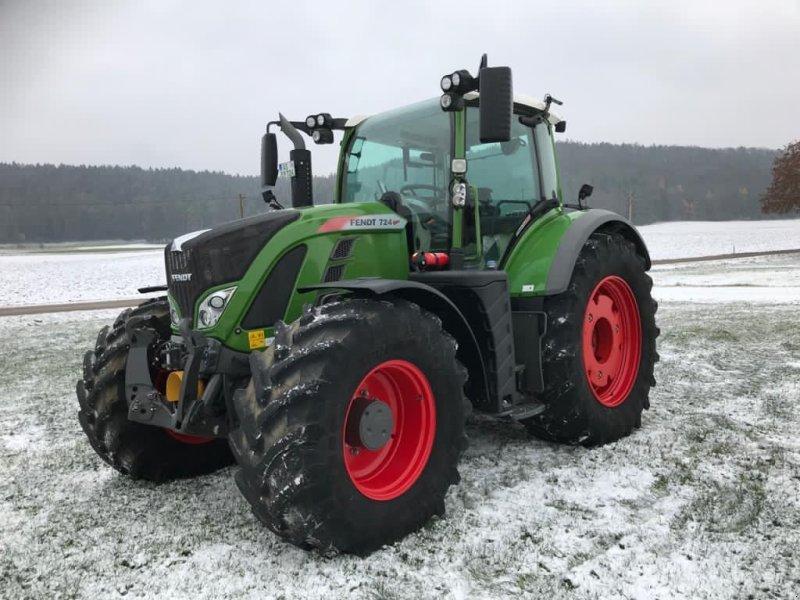 Traktor des Typs Fendt 724 Vario Profi, Gebrauchtmaschine in Birgland (Bild 1)