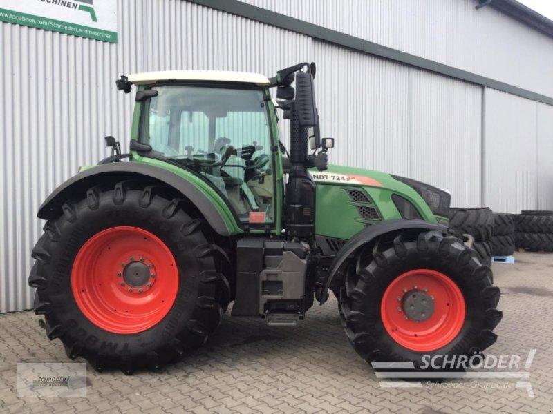 Traktor des Typs Fendt 724 Vario S4 Power, Gebrauchtmaschine in Holdorf (Bild 2)