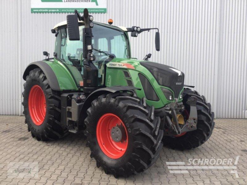 Traktor des Typs Fendt 724 Vario S4 Power, Gebrauchtmaschine in Holdorf (Bild 1)
