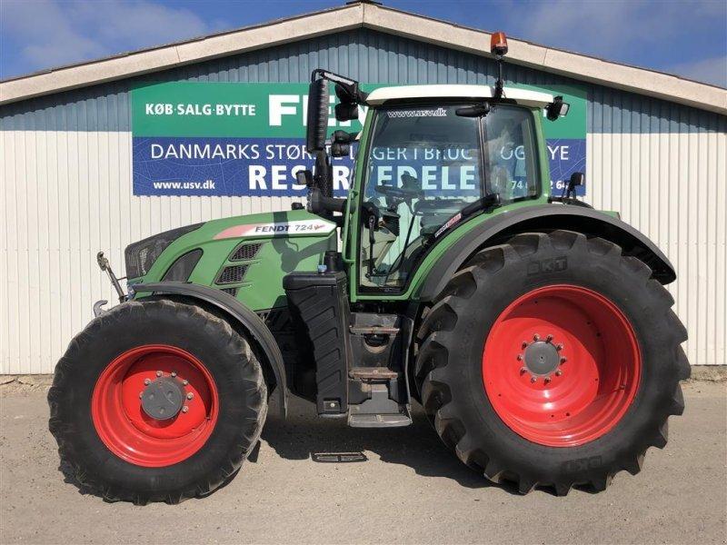 Traktor tipa Fendt 724 Vario S4 Profi Plus med F-PTO, Gebrauchtmaschine u Rødekro (Slika 1)