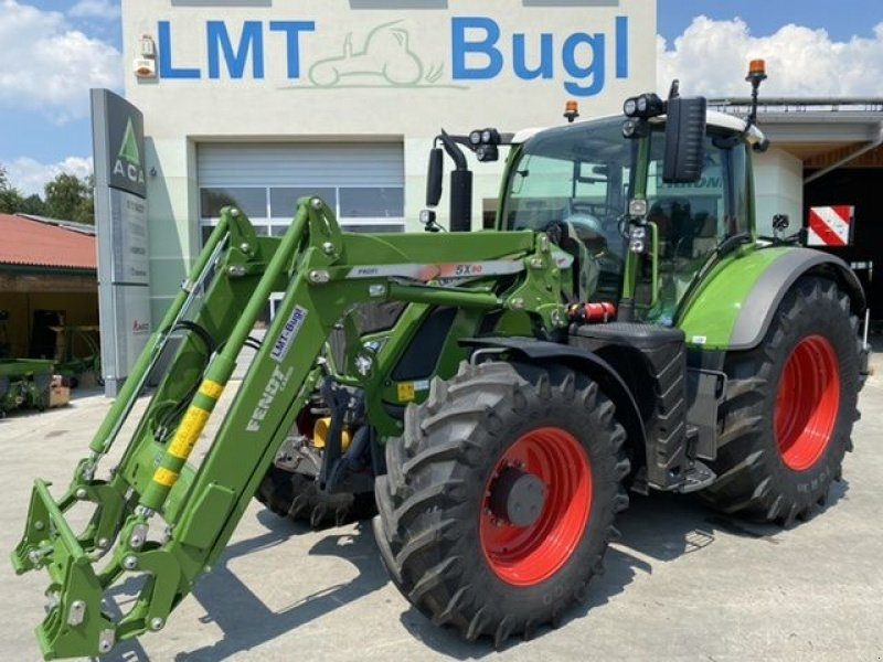 Traktor типа Fendt 724 Vario S4 Profi-Plus mit Cargo Profi, Gebrauchtmaschine в Hürm (Фотография 1)