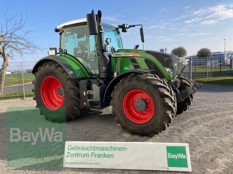 Traktor des Typs Fendt 724 Vario S4 Profi Plus RTK, Gebrauchtmaschine in Giebelstadt (Bild 1)