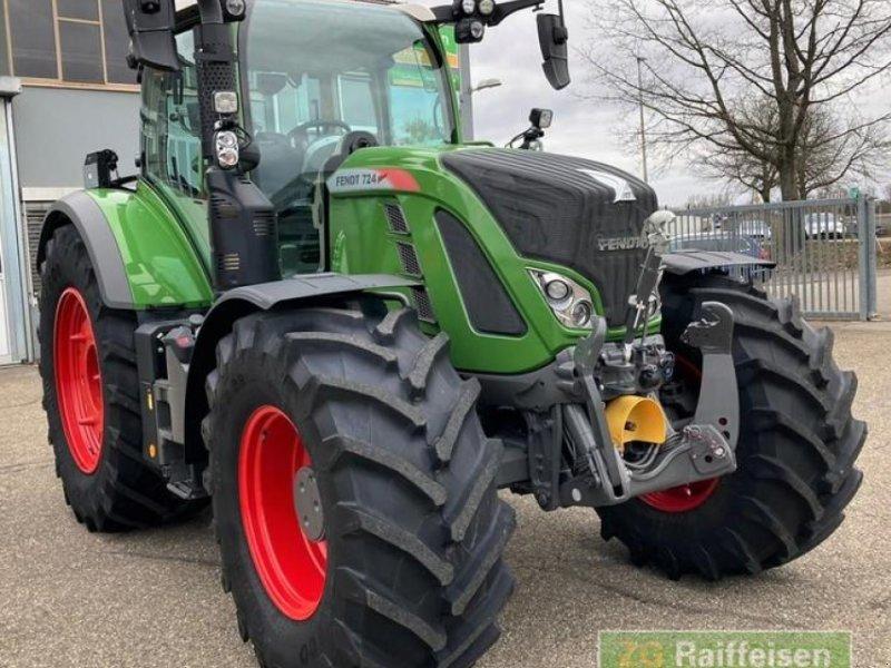 Traktor des Typs Fendt 724 Vario S4 Profi Plus, Gebrauchtmaschine in Bühl (Bild 1)
