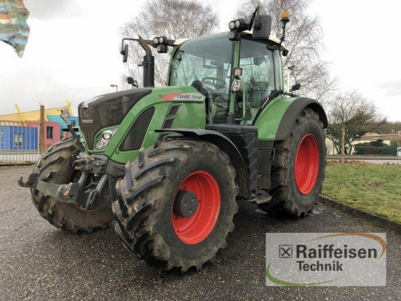 Traktor des Typs Fendt 724 Vario S4 Profi Plus, Gebrauchtmaschine in Bad Oldesloe (Bild 1)