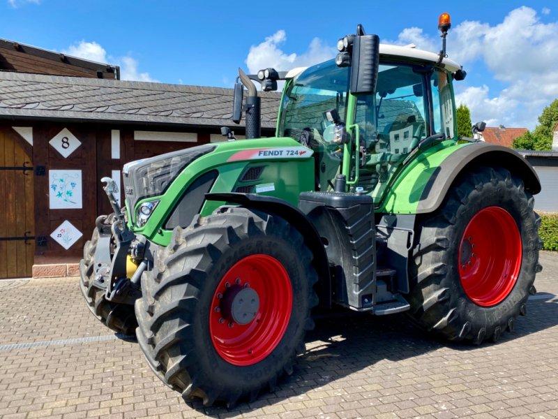 Traktor типа Fendt 724 Vario S4 ProfiPlus FH FZW 4.385 h ( 718 720 722 818 820 ), Gebrauchtmaschine в Weimar/Hessen (Фотография 1)