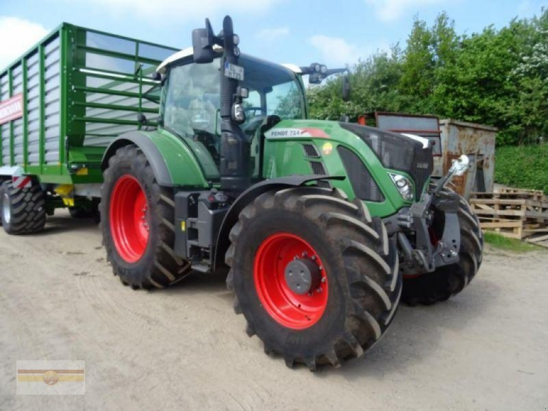Traktor типа Fendt 724 Vario S4 ProfiPlus, Gebrauchtmaschine в Böklund (Фотография 1)