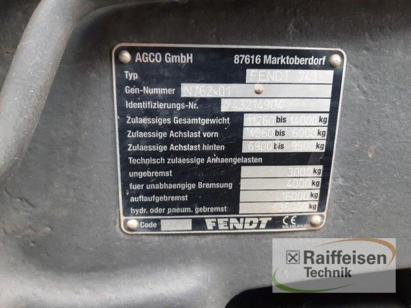 Traktor des Typs Fendt 724 Vario S4, Gebrauchtmaschine in Gnutz (Bild 8)