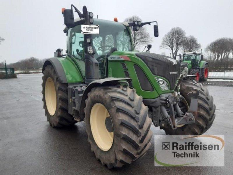 Traktor des Typs Fendt 724 Vario S4, Gebrauchtmaschine in Gnutz (Bild 3)